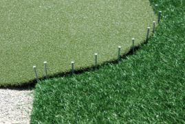putting green fringe install